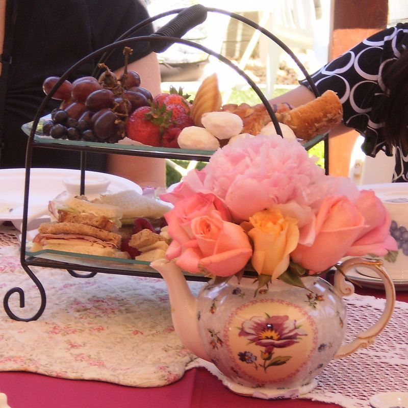 Tea Party table 1