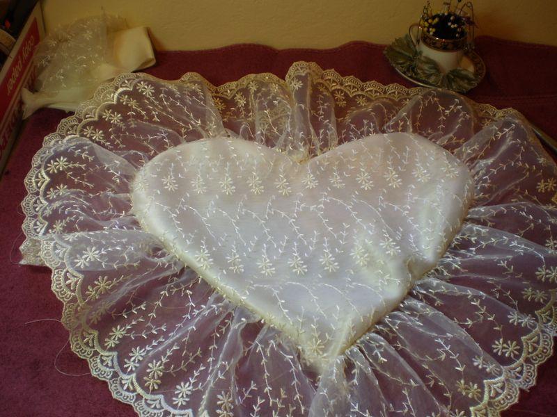 Ring Bearer Pillow WIP 009