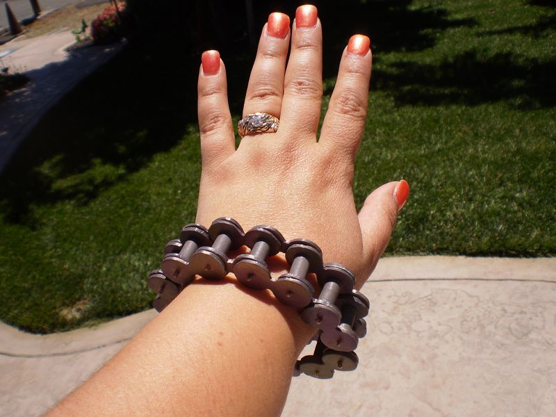 Bicycle Chain Bracelet 001