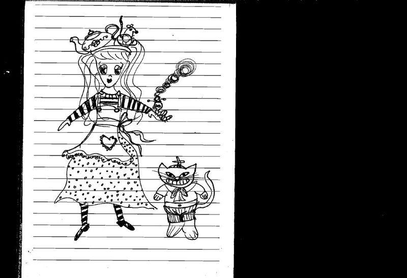 ADO Wonderland Sketch