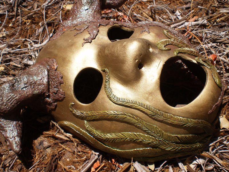 Rain Forest Tree Spirit Mask El Yunque 004
