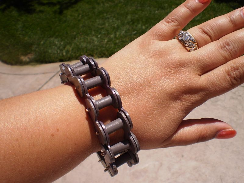 Bicycle Chain Bracelet 004