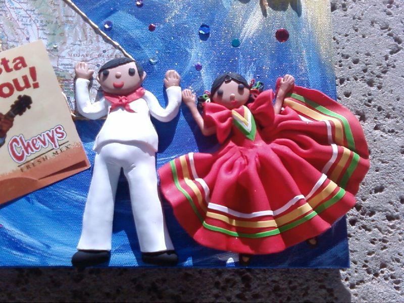 Mexican fiesta Dancers
