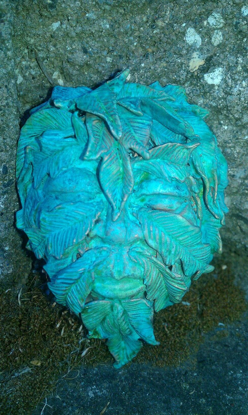 Greenman patina Final