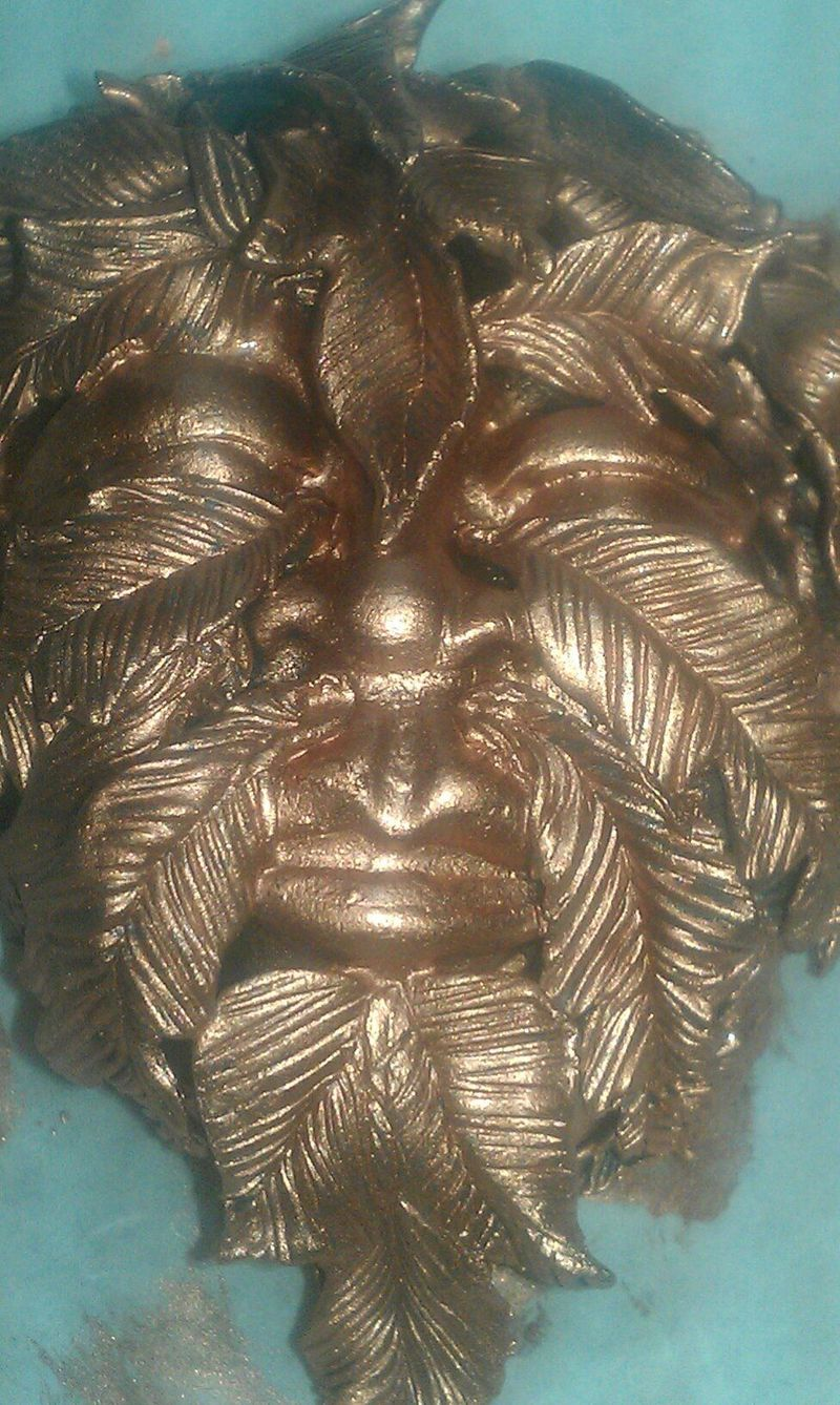 Greenman 1st copper coat