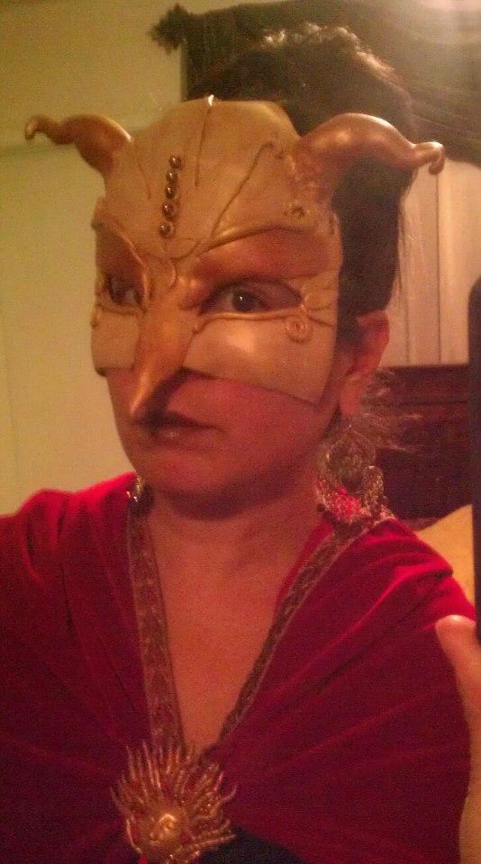 Autumn Goddess, Fire Dragon Keeper, Masquerade