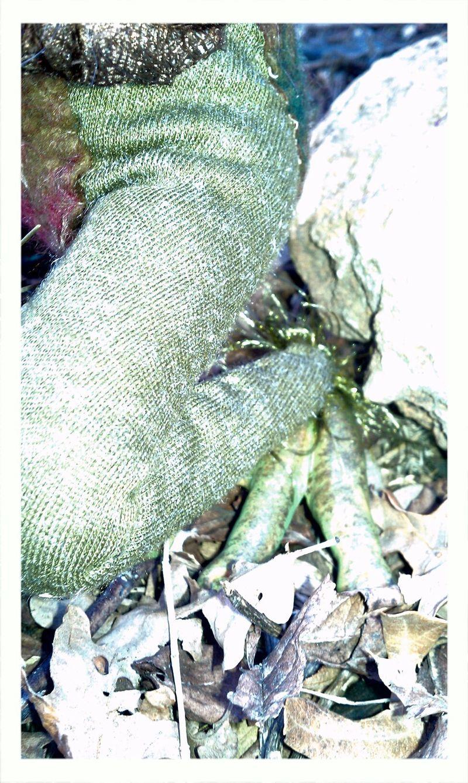 Tierra-Earth Fae Frog Feet
