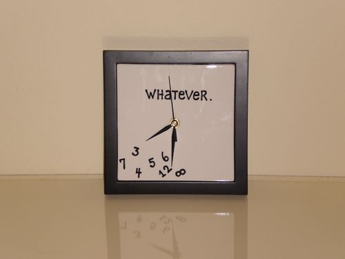 My clock in the yellow room
